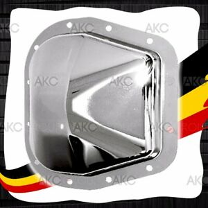12 Bolt 9 75 Ring Gear Chrome Rear Differential Cover For 99 04 Ford F 150
