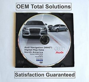 Ver 2010 Update For Audi see Fitment Mmi Navigation Dvd Disc Map 4e0060884cj