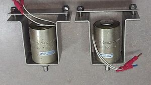Lot Of 2 Linear Solenoid Ghuz040m20d01 24v100 ed Msm 6 80376