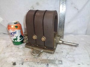 Nickel Plated Brass Friction Drive Magneto Hit Miss Engine Auto Tractor Steam