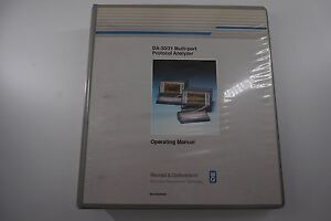 Wandel Goltermann Operating Manual Da 30 31 Bn9305 00 82