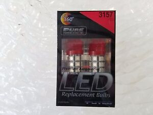 Putco 360 Led Replacement Bulbs 3157 Red