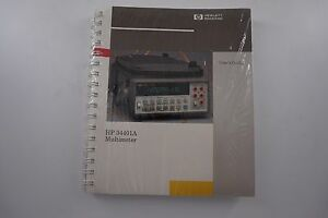 Agilent 34401a User s Quick Reference And Service Guide 34401 90000 new Sealed