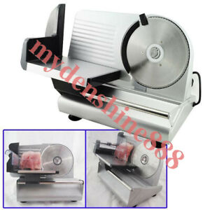 Commercial Home Electric Food Meat Slicer Cheese Cut Slicing Thickness 0 15mm