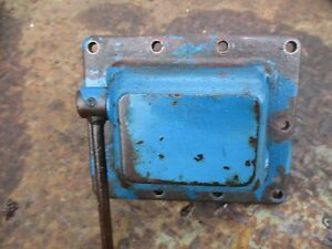 1981 Ford 1710 Tractor 2 Cyl Diesel Transmission Shift Cover Housing Free Ship