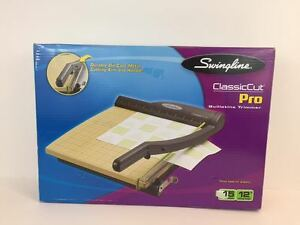 Swingline Paper Cutter Guillotine 12 Cut Length 15 Sheet Capacity Complete
