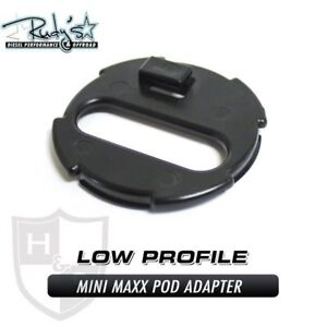H S Mini Maxx Low Profile Pod Adapter Mount For Ford Dodge Gm Gmc Chevy