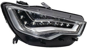 Hella Led Drl Right Side Headlight For Audi A6 C7 Allroad Avant Rs6 4g 2011