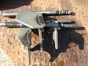 1966 Oliver 1550 Gas Farm Tractor Transmission Shift Shifting Forks Free Ship