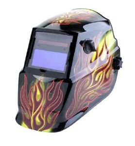 Lincoln Auto Welding Electric Welder Darkening Pro Black Shade Helmet Grind Mode