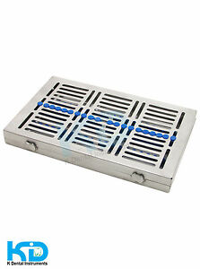 Cassette Dental Trays For 20 Instruments Removable Cover Cassetta Dental Ce