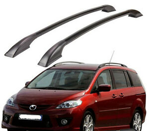 Roof Rail Rack Aluminum Alloy Car Top Cargo Luggag Roof Rack Fit For Mazda 5