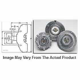 Hayden Fan Clutch Radiator Cooling New Chevy Olds S10 Pickup S 10 2739