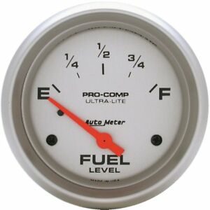 Autometer Fuel Gauge Gas New 4417