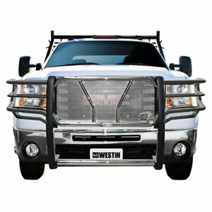 Westin Grille Guard New Polished Chevy Chevrolet Silverado 2500 Hd 57 3780