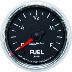 Autometer Fuel Gauge Gas New 3810