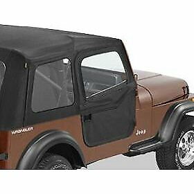 Bestop Half Doors Set Of 2 Front New Jeep Wrangler Cj7 1980 1986 Pair 51783 01