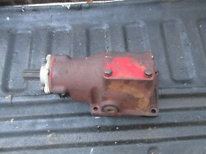 Farmall Super A C 100 130 140 200 230 240 Pto Belt Pulley Drive Unit Gearbox