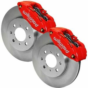 Wilwood Brake Disc And Caliper Kits 2 Wheel Set Front New 140 12996 R