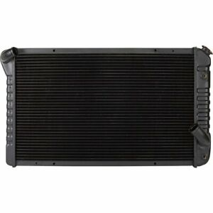 Radiator New Chevy Chevrolet Corvette 1973 1976 Cu478