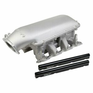 Holley 300 126 Intake Manifold For 97 07 Corvette 98 2002 Camaro Upper Mid Rise