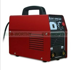 Eco Inverter Welding Equipment Igbt Mma Arc 220v Welder Machine Zx7 200 Portable