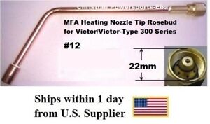 Mfa Heating Nozzle Tip Rosebud For Victor victor type 300 Series 12 1187 12