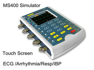 Us Fda Ms400 Touch Multi parameter Patient Simulator ecg Simulator resp Temp Ibp