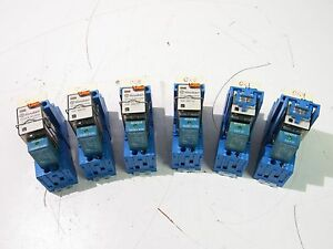 Finder 94 04 Relay 10a 300v 10a 250v lot Of 6 xlnt