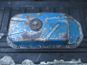 1963 Ford 4000 4 Cylinder Diesel Farm Tractor Oil Pan Free Shipping