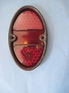 1931 32 Chevrolet Tail Light Lens And Rim New Never Used 31 40 Chevrolet Trucks