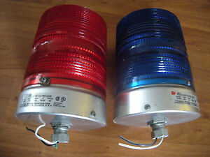 Federal Signal Division Starfire Strobe Light Red 131dst Blue 131st