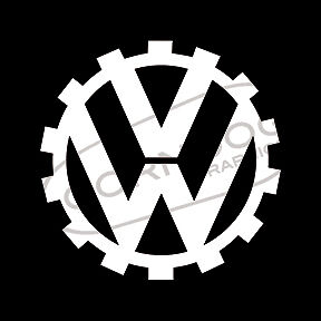 Cog Vinyl Sticker Decal Vw Volkswagen Gti Jetta Bug Bus