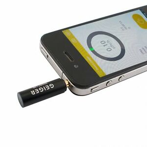 Smart Geiger Nuclear Radiation Detector Counter Test Iphone Android Phone Kit