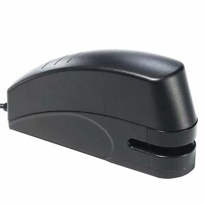 X acto 73101 Electric Stapler With Anti jam Mechanism 20 sheet Capacity Black