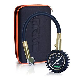 New Car Tire Pressure Gauge Case 60 Psi Accurate By Drive Auto Products
