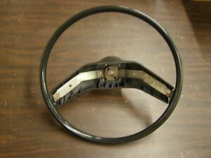 Original 1974 1979 Ford Torino Ltd Granada Mustang Ii Cougar Steering Wheel Blk