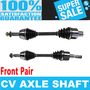 2x Front Cv Axle Drive Shaft For Ford Explorer 06 10 Sport Trac 07 10