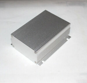 Silver Aluminum Project Box Case Electronic Box1166 Al Enclosure Us Stock