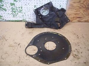 1965 Triumph Herald 1200 Engine Front Rear Motor Mount Plate 1968 1966 1967 Y