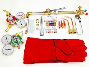 Victor Type Heavy Duty 310c Cutting Torch Welding Kit 2b red Gloves