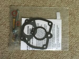 Ih farmall Basic Carburetor Repair Kit Super H M Mta 300 350 400 450 600 650