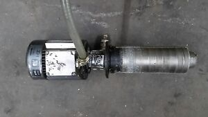 Grundfos Cnc machine Tool Coolant Pump Mg71a2 14f85