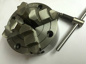 4 Inches 100 Mm 4 Jaw Independent Chuck For Lathe Machine