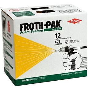 Dow Froth Pak 12 Spray Foam pack Of 2 308900