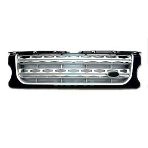 For Land Rover Discovery Lr4 2014 2016 Black Silver Front Grille Trim Replace