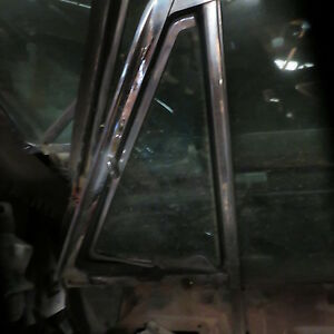 1961 Galaxie Starliner Oem Driver Front Vent Frame W Glass In Tint W Nos Look