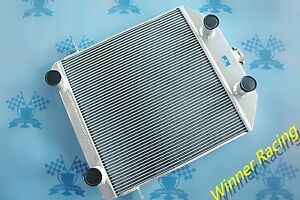 Fit Ford Mercury Car W Flathead V8 1939 1941 Aluminum Radiator 56mm