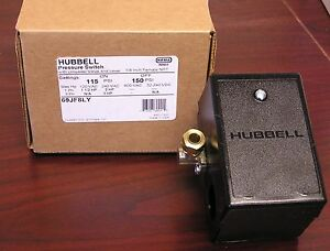 69jf8ly Air Compressor Pressure Switch 115 150psi Old 69mb8ly Furnas hubbell