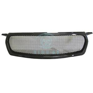 1pc Auto Carbon Fiber Front Bumper Grille Grill Fit For Toyota Corolla 2010 2012